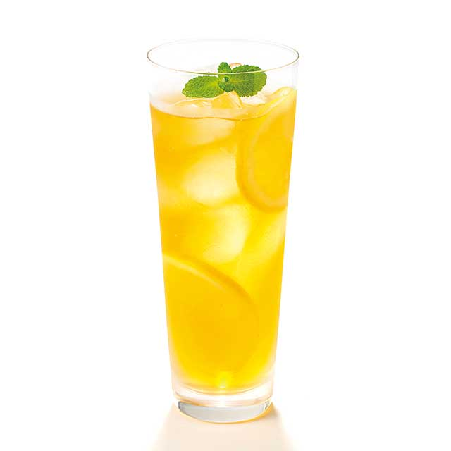 レモンのティースカッシュ