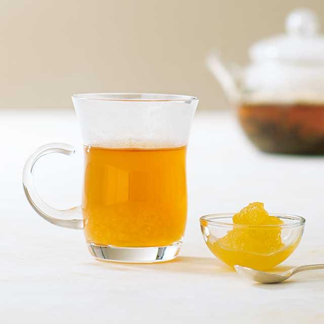 烏龍茶 × ジャム × ラム酒
