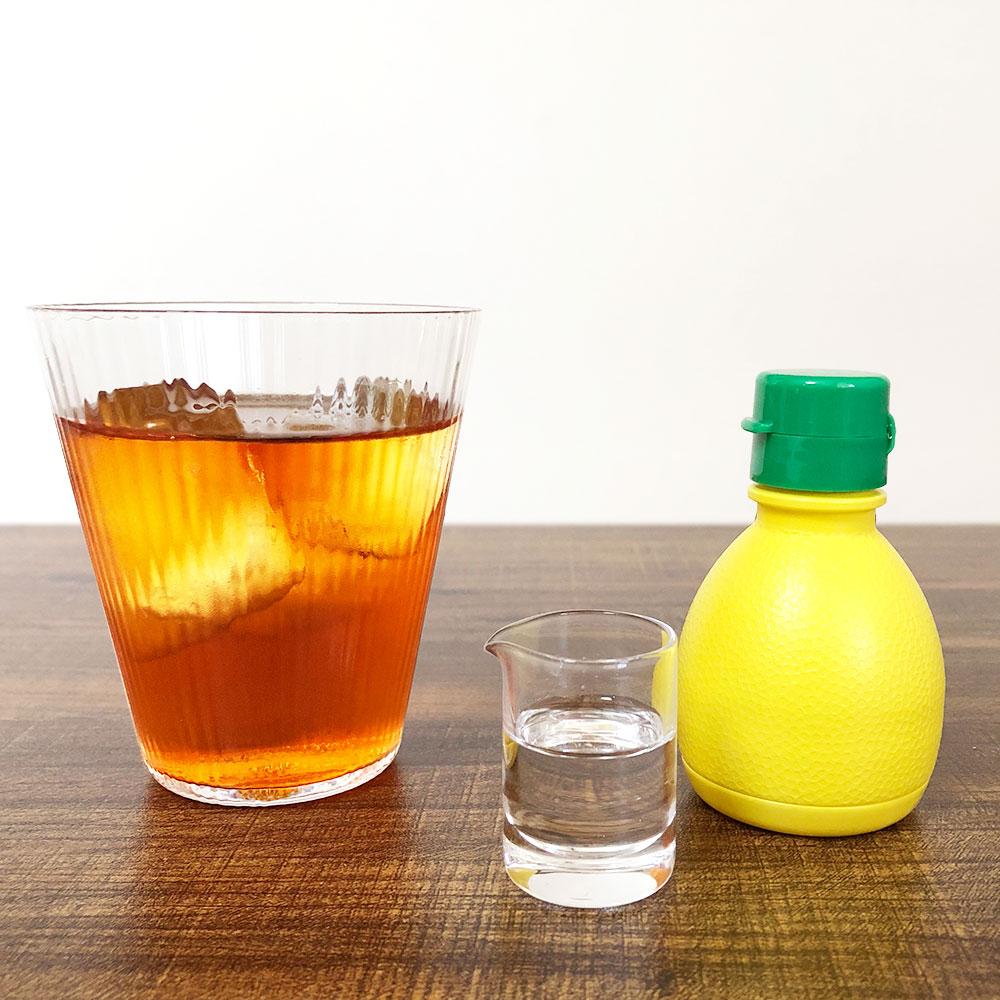 レモン果汁で代用OK